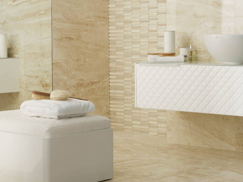 Bathroom design ideas modern furniture toronto for Suelo marmol beige