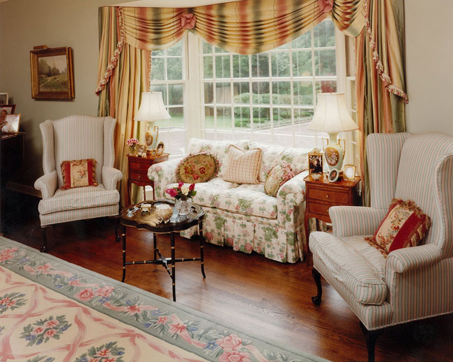 English style curtains