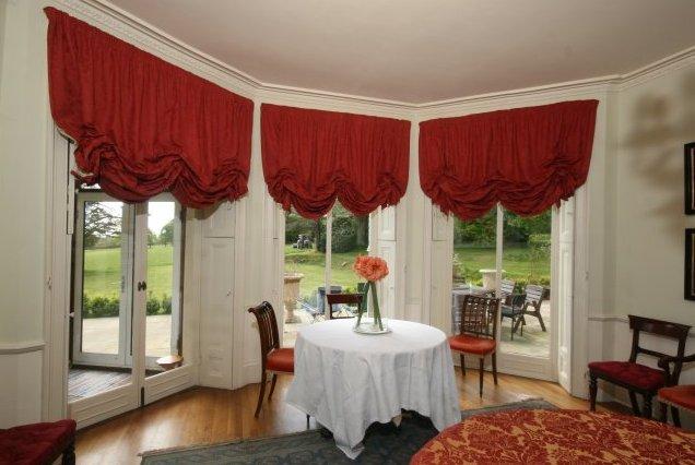 Austrian style curtains